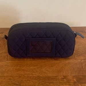 Vera Bradley Navy Blue Makeup Case